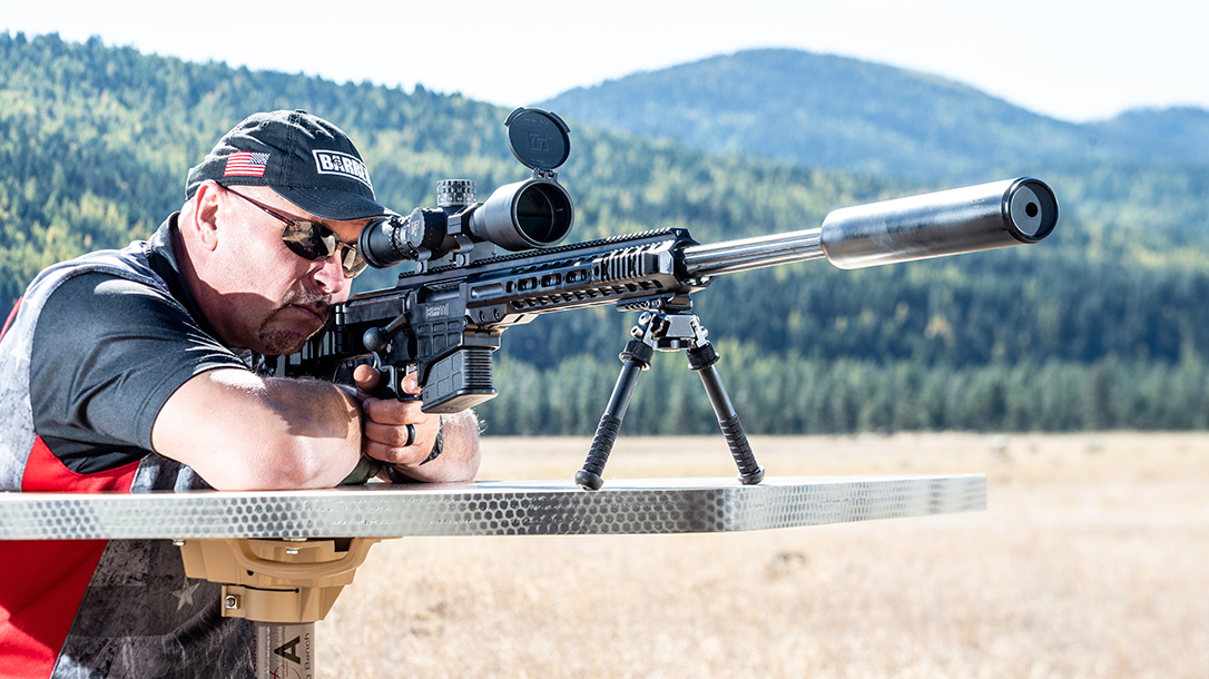 Barrett MRAD 308 Rifle, Barrett Rifles, range