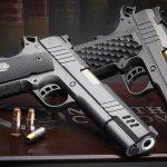 Nighthawk President Pistol, 9mm pistol, Nighthawk Custom, grips