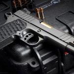 Nighthawk President Pistol, 9mm pistol, gold