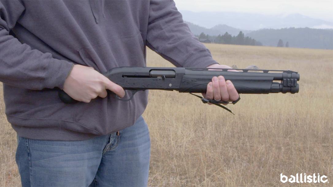Remington V3 Tac-13, Remington Semi-Auto Tac-13, range test