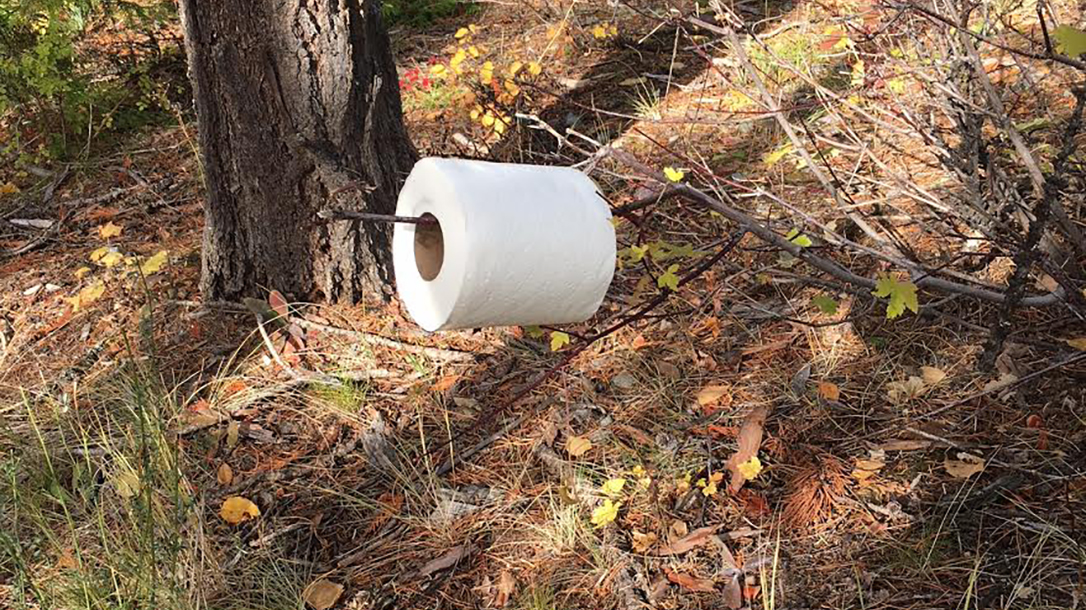 Shit in the Woods, Wilderness pooping, toilet paper