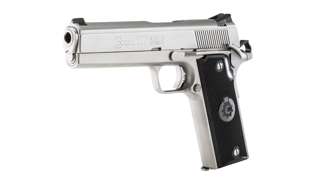 Coonan 357 Magnum Pistols, Coonan Classic left