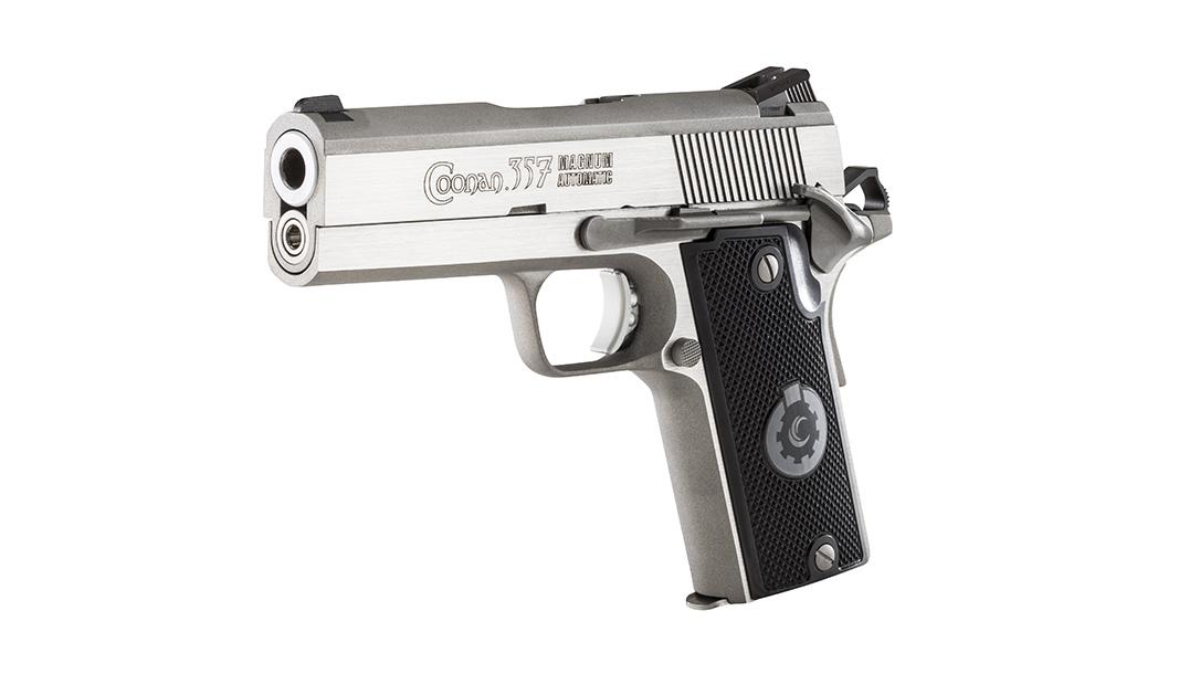 Coonan 357 Magnum Pistols, Coonan Compact left
