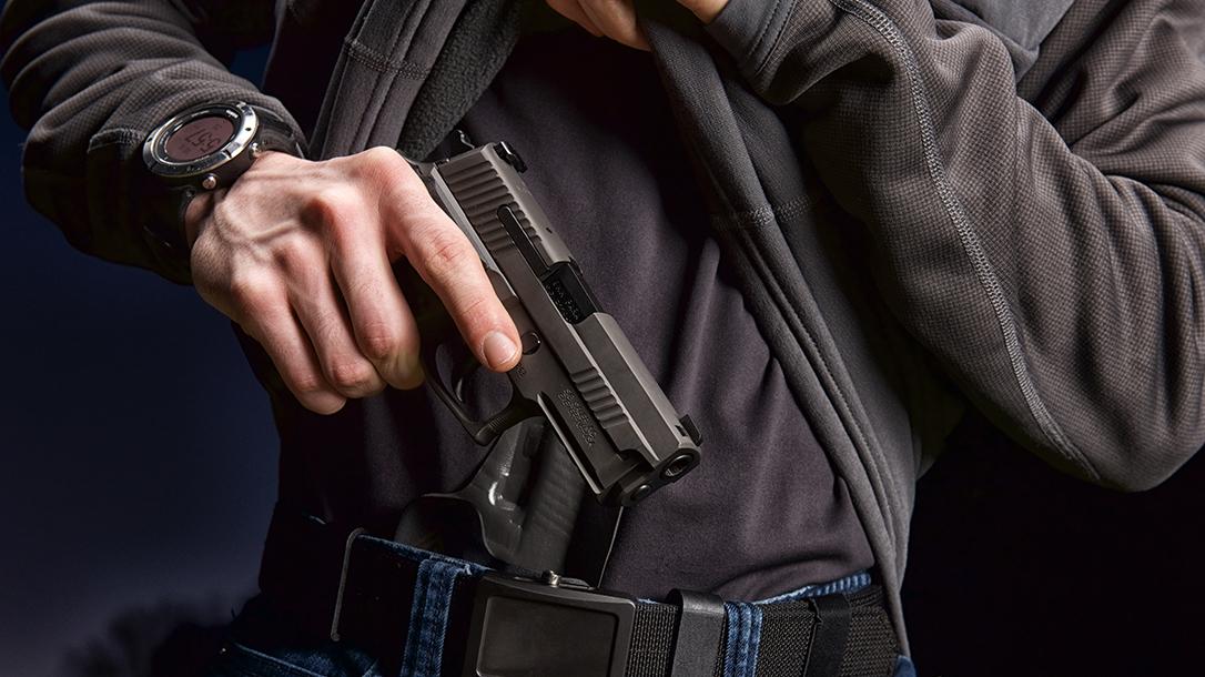 SIG P229 Legion Pistol, SRD9 Suppressor, pistol review, draw