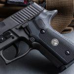 SIG P229 Legion Pistol, SRD9 Suppressor, pistol review, grip