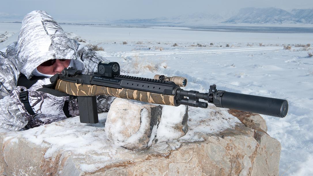 How to maintain weapon zero, zeroing a weapon, snow