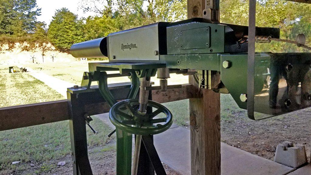 Remington MasterBlaster, 8-gauge, industrial gun, left