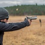 Magnum Research White Tiger Desert Eagle, gun test, brass