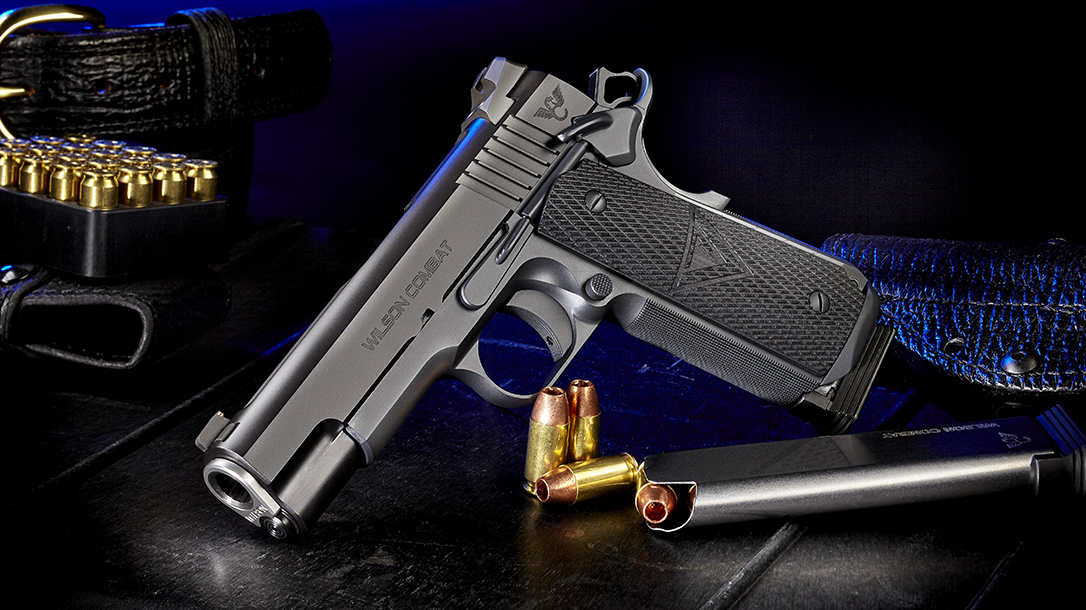 Wilson Combat Vickers Elite Commander 1911 pistol review, left