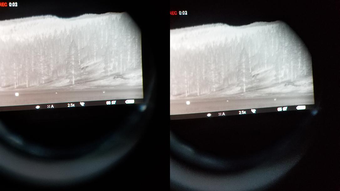 Pulsar Trail XP38 Thermal Riflescope, smart phone