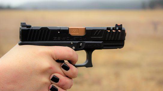 ZEV Z19 Spartan Pistol review, glock, grip