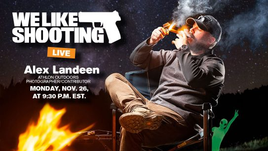 Alex Landeen, Ballistic Magazine, We Like Shooting podcast