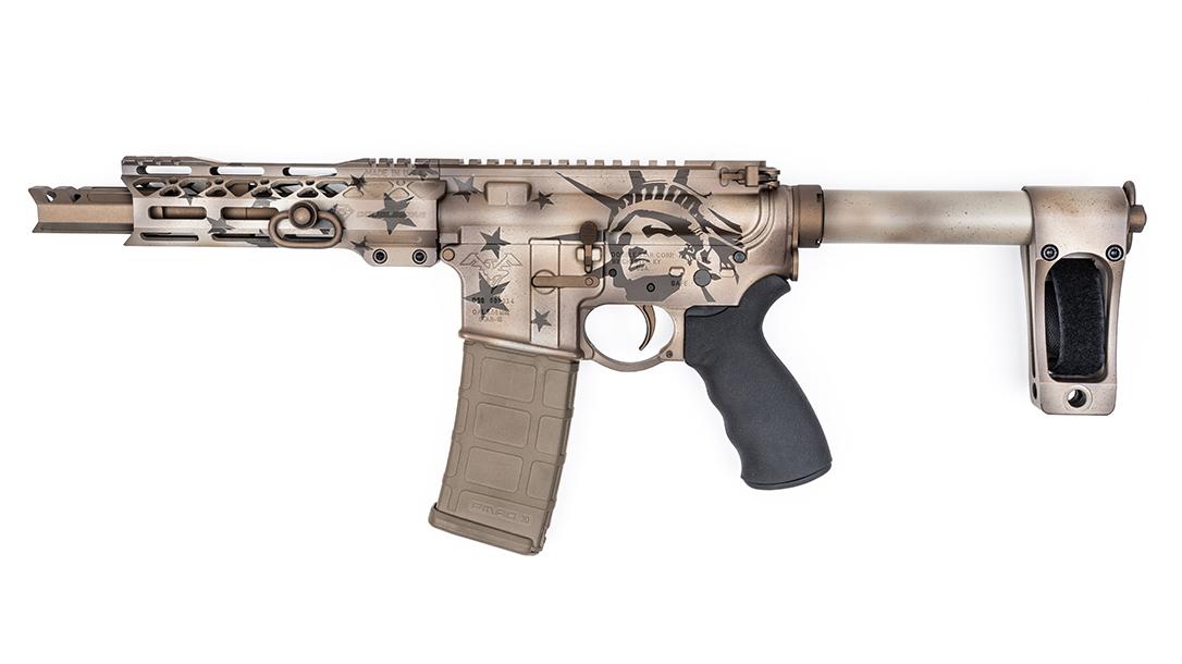 DoubleStar ARP7 Pistols, Blown Deadline Cerakote, left