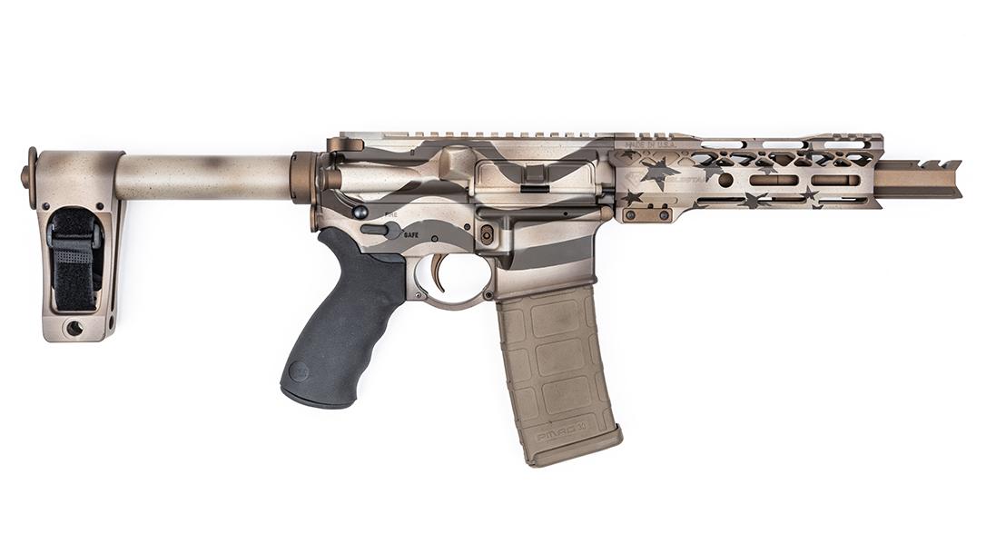 DoubleStar ARP7 Pistols, Blown Deadline Cerakote, right