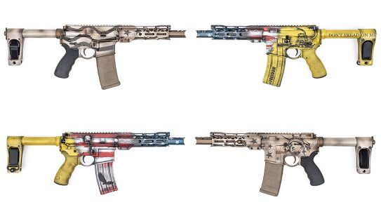 DoubleStar ARP7 Pistols, MAD Custom Coating, Blown Deadline Cerakote, lead