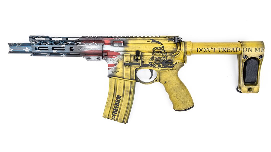 DoubleStar ARP7 Pistols, MAD Custom Coating, left