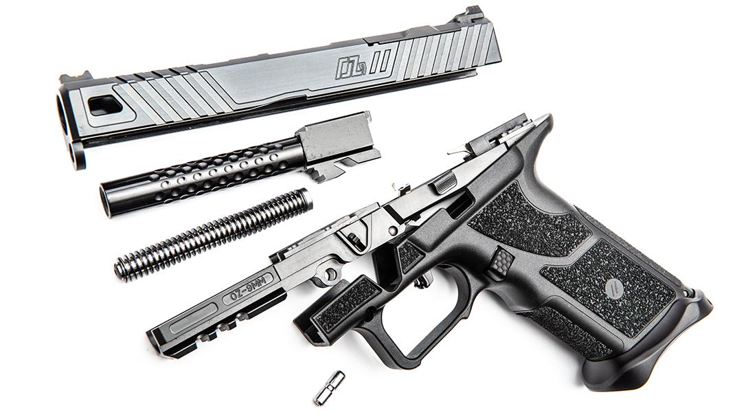 ZEV OZ9 Pistol, ZEV Technologies OZ9, pistol review, parts