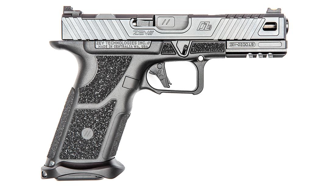 ZEV OZ9 Pistol, ZEV Technologies OZ9, pistol review, right