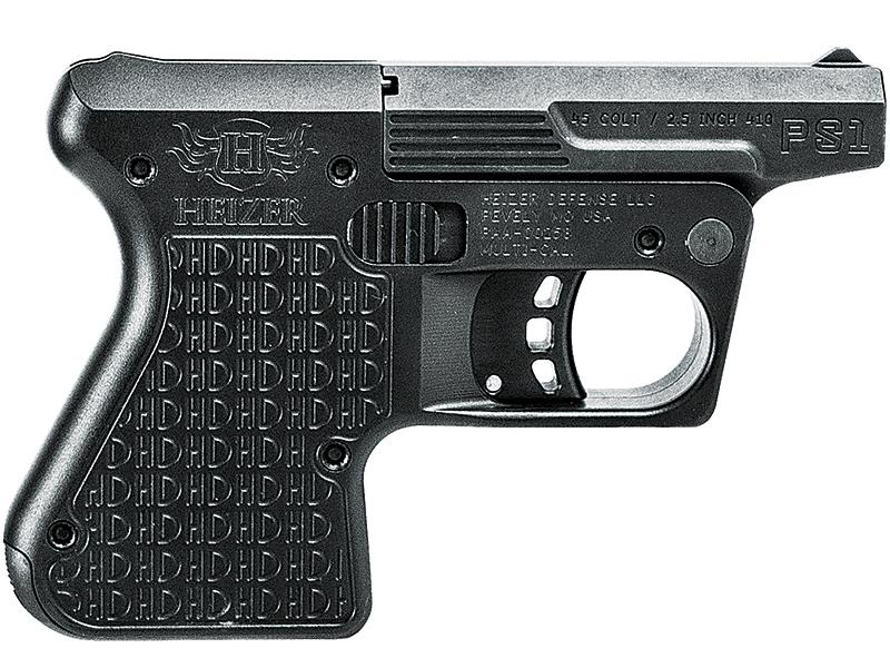 Best Backcountry Pocket Pistols Heizer Defense PS1 Pocket Shotgun