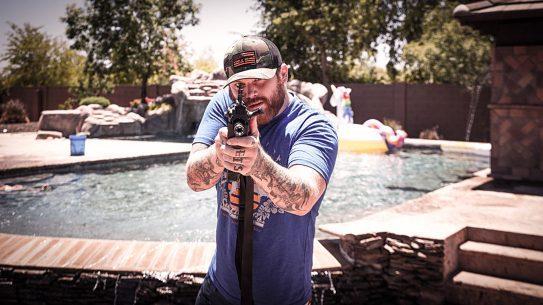 Asking Alexandria Singer Danny Worsnop, Guns, We Like Shooting