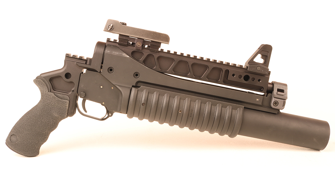 M203 Grenade Launcher, right