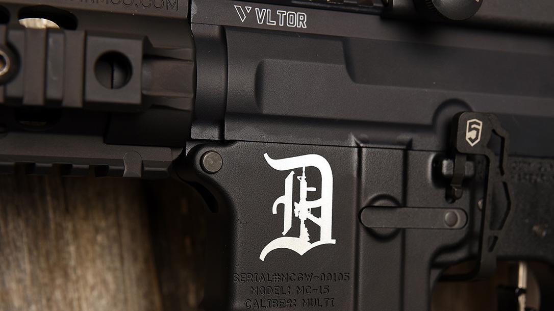Motor City Gun Works Detroit Edition AR-15, Detroit Michigan