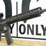 Motor City Gun Works Detroit Edition AR-15, sign