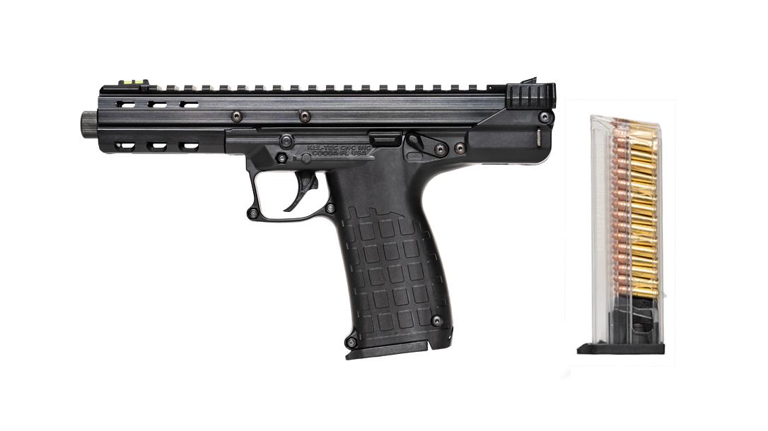 Kel-Tec CP33 pistol, .22LR, rail