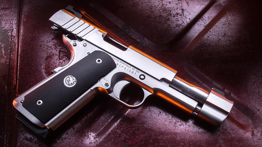 Nighthawk Firehawk 1911 pistol, Nighthawk Custom Firehawk compensator, right