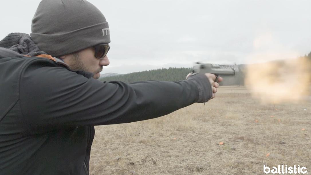 Magnum Research White Tiger Desert Eagle, range test, desert eagle blast