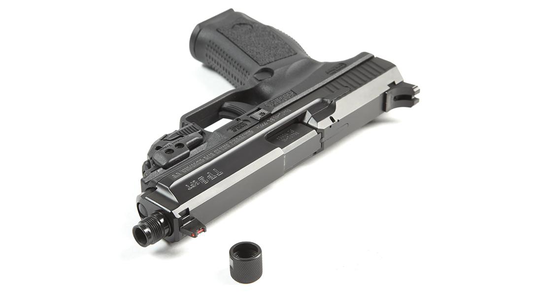 Canik TP9SFT pistol review, threaded barrel