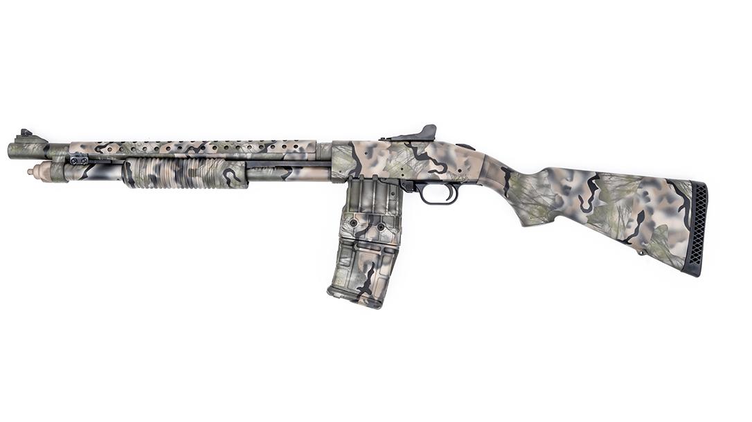 Mossberg 590M Mag-Fed Shotgun, MAD Custom Coating, left