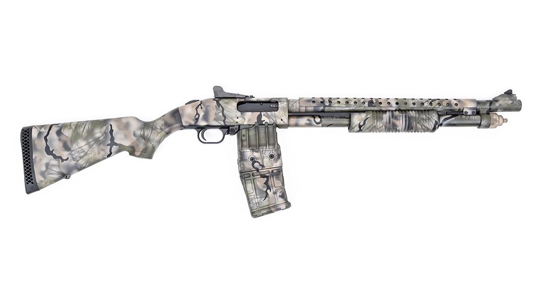 Mossberg 590M Mag-Fed Shotgun, MAD Custom Coating, right