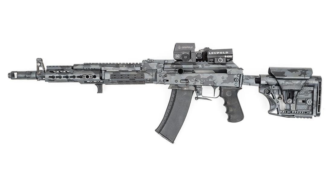 Joe Firearms CompetitionAK-74 Rifle, left
