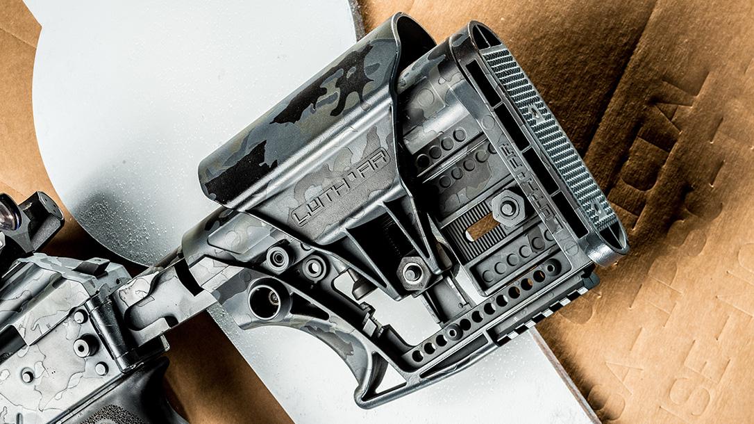 Joe Firearms CompetitionAK-74 Rifle, Luth-AR Stock