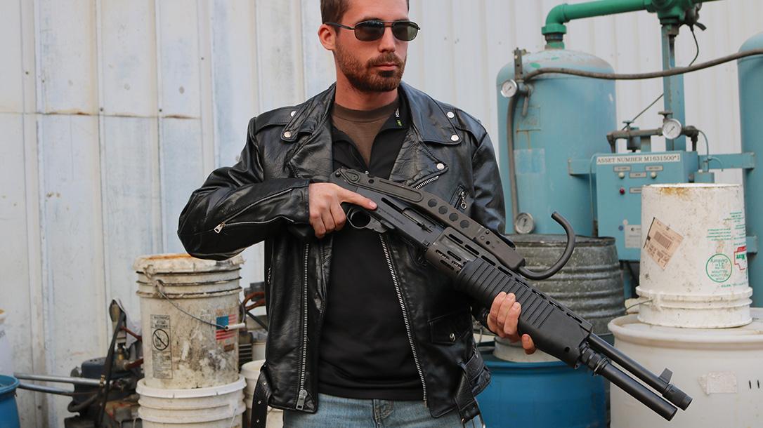 Guns of the Terminator, The Terminator guns, Franchi SPAS-12