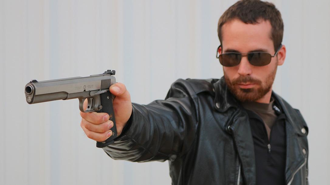 Guns of the Terminator, The Terminator guns, AMT Longslide 1911 pistol