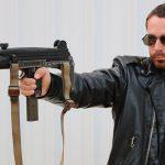 Guns of the Terminator, The Terminator guns, Israeli Uzi