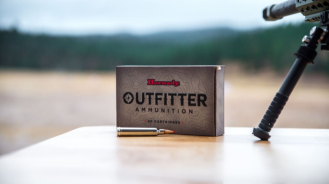 Hornady Outfitter Ammo, range testing, rifle test