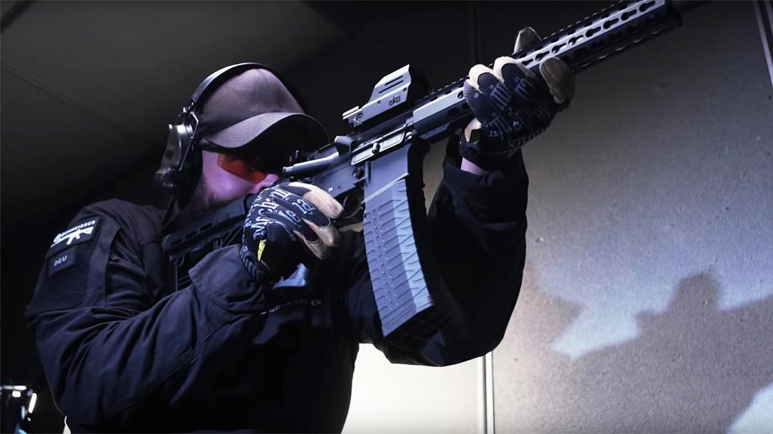 Schmeisser 60-Round AR-15 magazine, test