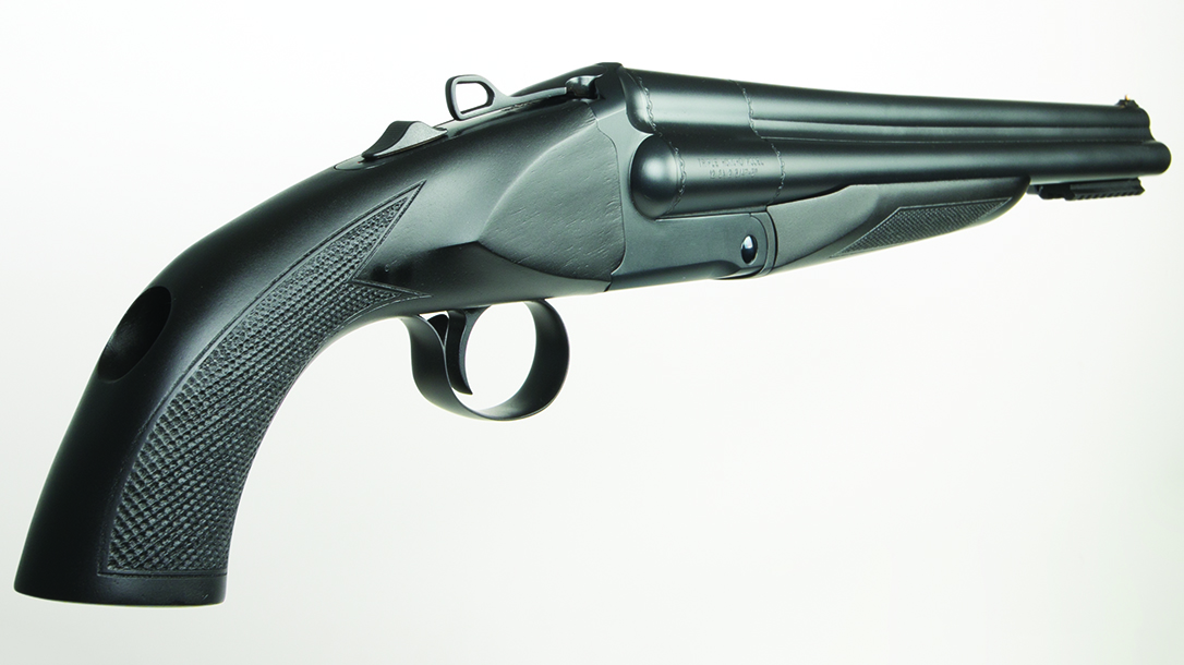Charles Daly Honcho Triple Barrel 12-Gauge Shotgun, rear