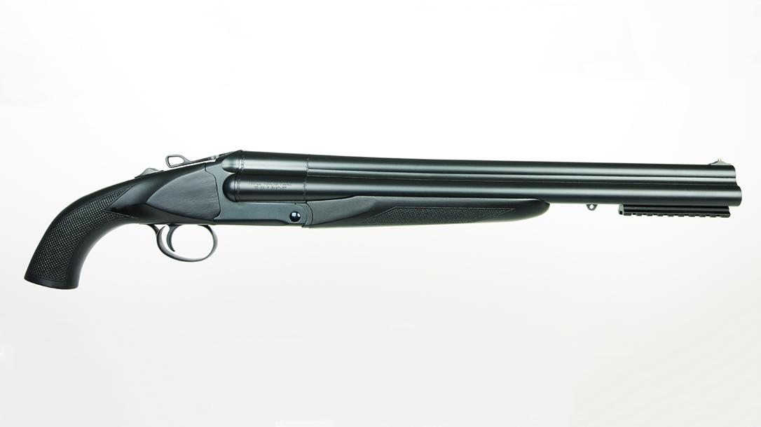 Charles Daly Honcho Triple Barrel 12-Gauge Shotgun, side
