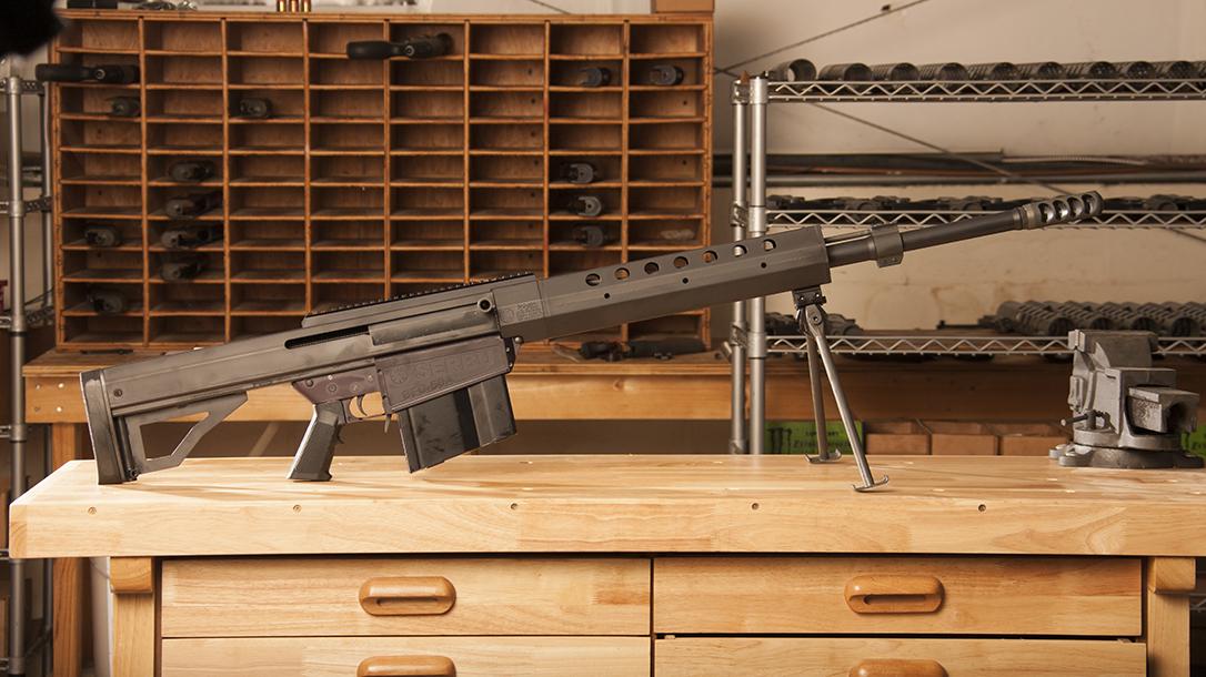 Serbu BFG-50A rifle review, lead
