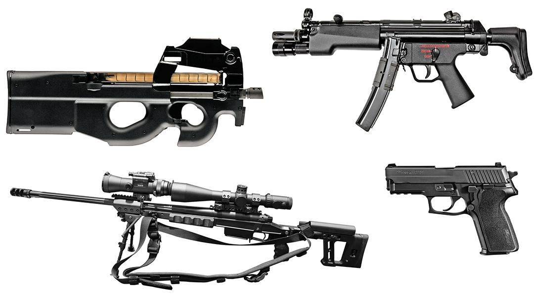 USA vs Russia protection teams, guns, firearms