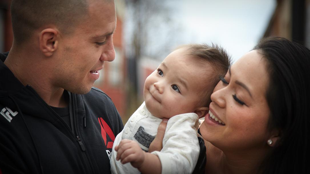 James Vick UFC, family