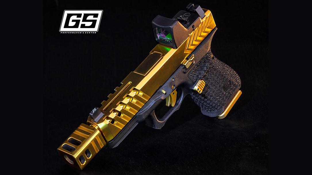 G23 Pistol, GlockStore, gold compensator