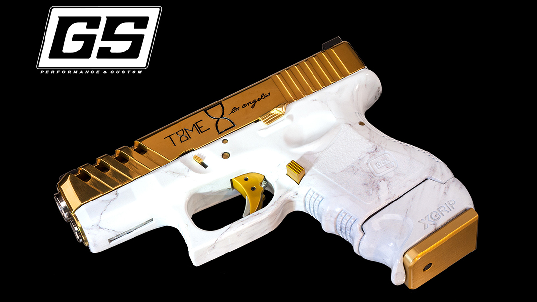 G26 Pistol, GlockStore, marble finish