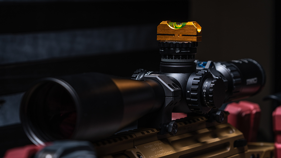 Keep the Scope Level on Your Rifle, bubble