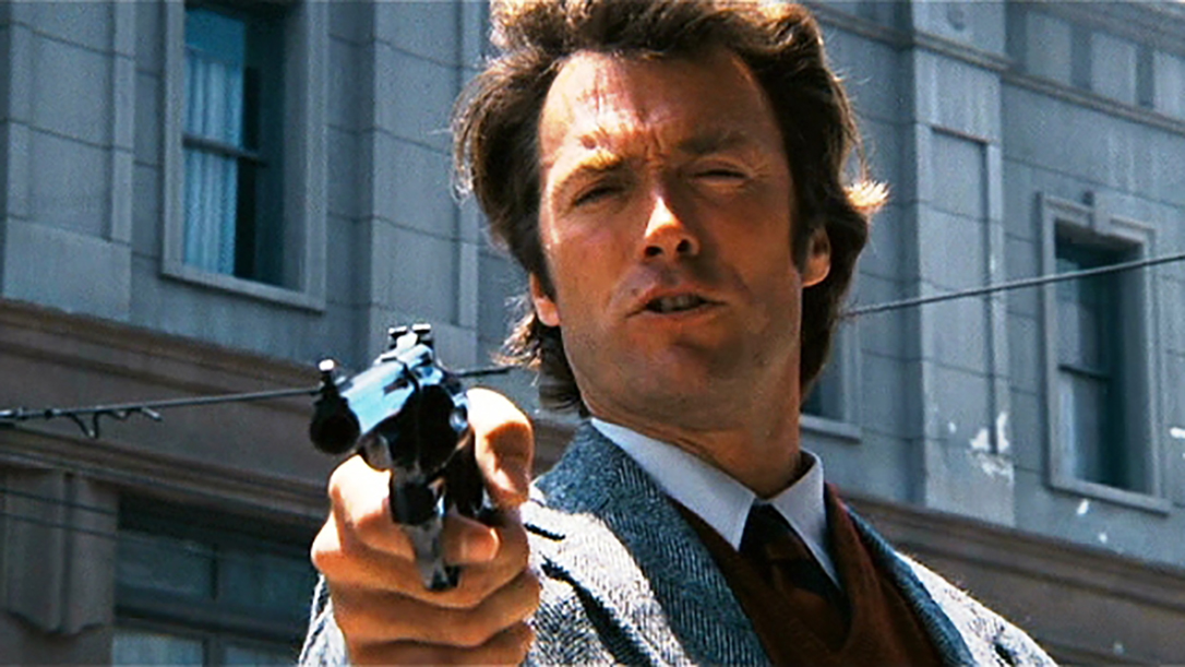 guns in movies, Dirty harry