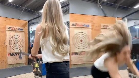 Axe Throwing Fail, Bad Axe Throwing